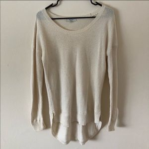 Cream madewell sweater